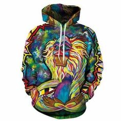 5ce908c7e0b 2018 New design Hot Fashion Men/Women Sweatshirts Print Spilled Milk Space  Galaxy Hooded Hoodies Thin Unisex Pullovers Tops