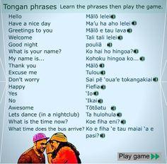 tongan language - Google Search