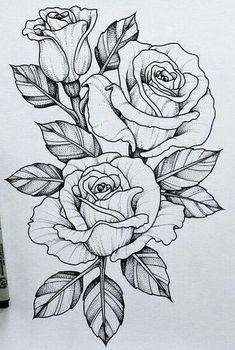 Should add this piece to my skull n rose tattoo .-Sollte dieses Stück zu meinem Schädel n Rose Tattoo hinzufügen … Tatowierung – flower tattoos designs This piece should go with my skull n rose tattoo add tattoo - Tattoo Design Drawings, Flower Tattoo Designs, Flower Tattoos, Art Drawings, Rose Drawings, Rose Drawing Tattoo, Tattoo Roses, Daisies Tattoo, Rose Tattoo Leg