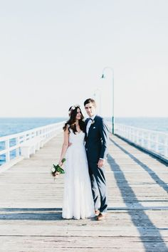 Australian Beach Wedding #photography