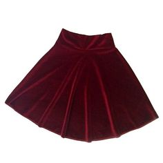 Velvet Skater Skirt – NYLON SHOP