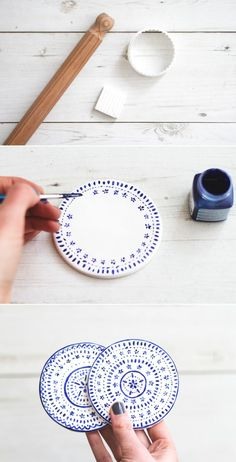 Does the world need any more DIY coasters? We love DIY coasters because you can use your creativity and make just about anything… Continue Reading → Tea Coaster, Diy Confetti, Recycled Magazines, Diy Coasters, Diy Wallpaper, Diy Ribbon, Felt Diy, Diy Clay, Diy Crochet