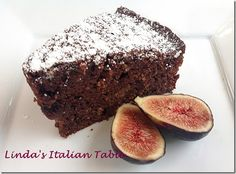 Dark Chocolate Fig Cake