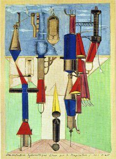 Hydrometric Demonstration, 1920 - Max Ernst
