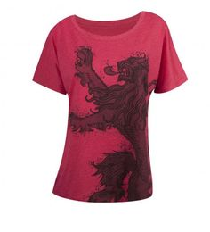 Game of Thrones Lannister Womens Dolman Loose Fit T-Shirt
