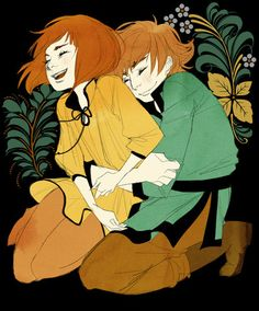 """By Irene Koh """"Alina and Mal in happier times.""""   This one kills me. Just. Kills. Me."""