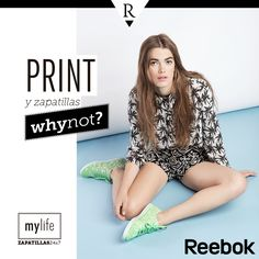 Animal print, a rayas, tropical, geométrico...¿Why not? Usa los estampados de moda en tus zapatillas Reebok Princess Decon Canvas. ¡Encuéntralas en nuestras tiendas!  #viernesdezapatillas #print #Reebok #MeFascinaRipley