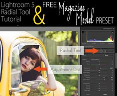Free Lightroom 5 Preset | Magazine Model Inspired | Get this preset and 150 more FREE Lightroom Templates at this blog!