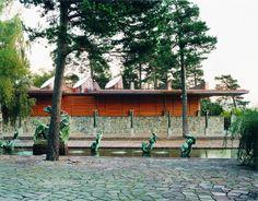 Johan Celsing Arkitektkontor at Millesgården in Stockholm Stockholm Sweden, Beautiful Places, Places To Visit, Cottage, Display, Architecture, Museums, Gallery, Building