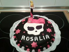 Tarta fondant Monster High