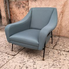 Pair of Armchairs Designed by Arflex | From a unique collection of antique and modern armchairs at https://www.1stdibs.com/furniture/seating/armchairs/