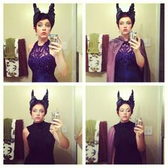Malificent costume DIY