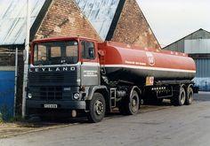 1980 Leyland Marathon 2 Vintage Trucks, Old Trucks, Classic Trucks, Classic Cars, 10 4 Good Buddy, Old Lorries, Transport, Commercial Vehicle, Gas Station
