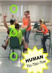How to play Human Tic-Tac-Toe!