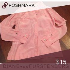 Diane Von Furstenberg Pink Blouse for Bundle Diane Von Furstenberg Pink Blouse for Bundle Tops Blouses