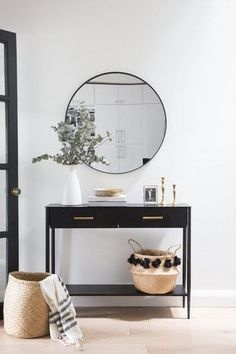 Entry-Way Decor The Harcourt | Ashley Montgomery Design - Toronto Interior Designer