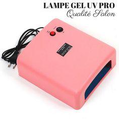 Gel Uv, Uv Gel Nails, Lampe Uv, Pink Power, Lamp Bulb, Nail Care, The Cure, Cool Designs, Nail Polish