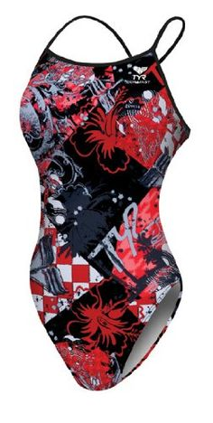TYR competitive swim suits :)