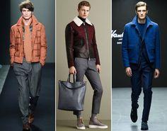 Мужские куртки модных цветов
