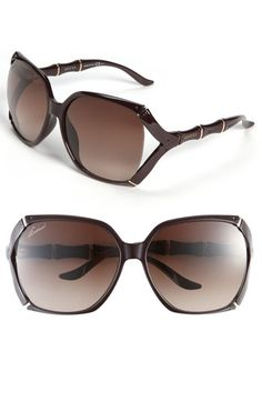 Gucci 58mm Oversized Sunglasses. Available in 5 colors