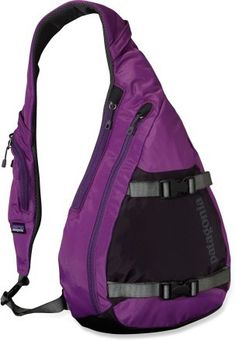 Patagonia Atom Sling Daypack....so what if I have a green one already? These make a great purse/diaper bag!