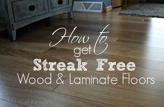 How To Get Streak Free Wood and Laminate Floors