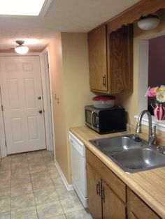 Painting the Kitchen Cabinets – Part 1