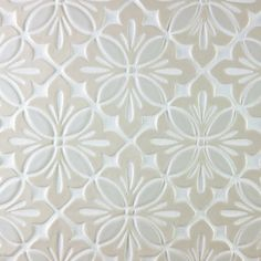 Merola Tile Costa Cendra Decor Dahlia In X In Ceramic - Dah tile