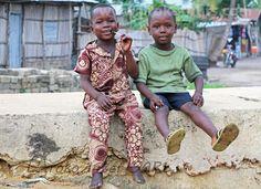 Boys in Benin