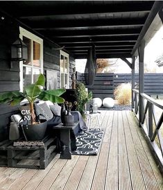 Big, relaxing porch