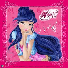 Musa is the Guardian Fairy of Music from Melody and one of the founding members of the Winx Club and a former student of Alfea College for Fairies. She was the fifth Winx girl introduced, after Bloom, Stella, Flora and Tecna.