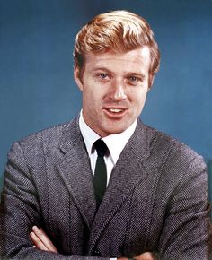 The Days Of The Norfolk Tweed Jacket And Knit Tie. Robert Redford.