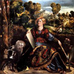 DOSSO DOSSI Giovanni di Niccolò Luteri (San Giovanni del Dosso, 1474 – Ferrara, 1542) Circe 1520 c. - Roma Galleria Borghese #TuscanyAgriturismoGiratola