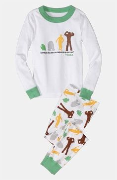 Hanna Andersson Two Piece Fitted Short Pajamas (Little Boys & Big Boys) Big Boys, Little Boys, Hanna Andersson, Pajama Shorts, Workout Shorts, Cool Kids, Organic Cotton, Pajamas, Nordstrom