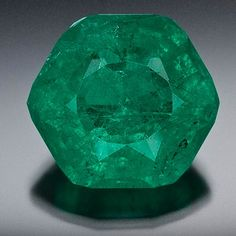 50.5 carat emerald found in North Carolina at the North American Emerald Mine. The miners were at the site only five minutes before finding the gem, the mine had not allowed outsiders in in over 40 years.