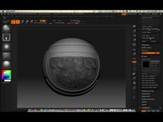 0209 Zbrush (painting with texture) - YouTube