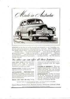 Australian Vintage, Australian Cars, Vintage Ads, Vintage Posters, Holden Australia, Jennifer Aniston Pictures, Car Pictures, Car Pics, First Car