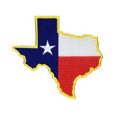 State of Texas Flag Patch US Embroidered Patch Gold Border Iron On patch Sew on Patch badge Patch Flag Patches, Sew On Patches, Iron On Patches, Texas Flags, Advertising And Promotion, Embroidered Patch, Vinyl Lettering, Party Printables, Holiday Crafts