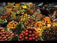▶ Life in 2 minutes: The Market La Boqueria, Barcelona 2013! - YouTube