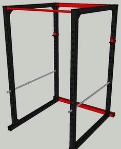 diy power rack plan