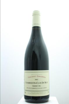 Vincent Girardin (Maison) Chambertin-Clos De Béze 2002. France, Burgundy, Gevrey Chambertin, Grand Cru. 6 Bottles á 0,75l. Price realized (9/2016): 1.320 USD (220 USD/Bottle).