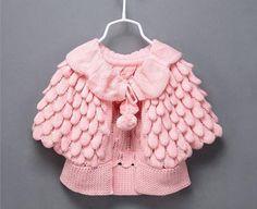 Finger-Sampling des PEM-by-Baby-Girl-Hirkai - Babykleidung Girls Sweaters, Baby Sweaters, Wool Sweaters, Knitting Wool, Baby Knitting, Knitting Patterns, Crochet Baby Clothes, Stella Mccartney Kids, Finger