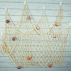 42 Top Fish Net Decor Images Beach Decorations Beach House Decor