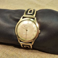 BULOVA vintage 50s L9 mens waterproof watch nice by gillardgurl, $60.00
