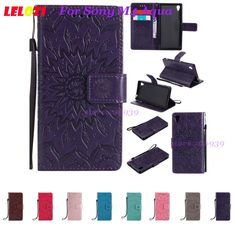 Cheap Flip Cases, Buy Directly from China Suppliers:LELOZI TPU PU Leather Vintage Best Purse Flip Case Fundas Bag For Sony Xperia Experia Xperi M4 Aqua Dual Red Sunflower Flower