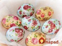 Vezmite len 3 vajcia natvrdo, Solamyl a servítku: O hodinu neskôr máte na stole skutočné majstrovské dielo!