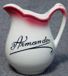 Armando Restaurant Hotel Club Logo Advertising China Creamer picclick.com