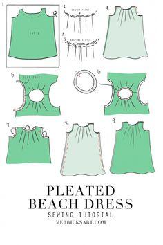 Cómo coser un vestido de la playa del verano (Bricolaje)