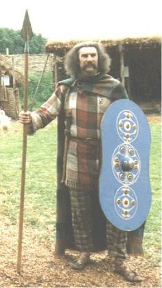 Celtic clothing, with rough patterns for Tunic, breeches, peplum and ghillie shoes