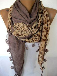 NEWTrend Scarf Fashion Scarf  ShawlsScarvesGift by SmyrnaShop, $18.90